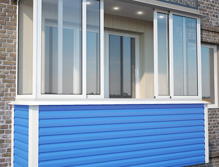 Что выбрать для балкона: пластик или алюминий?.