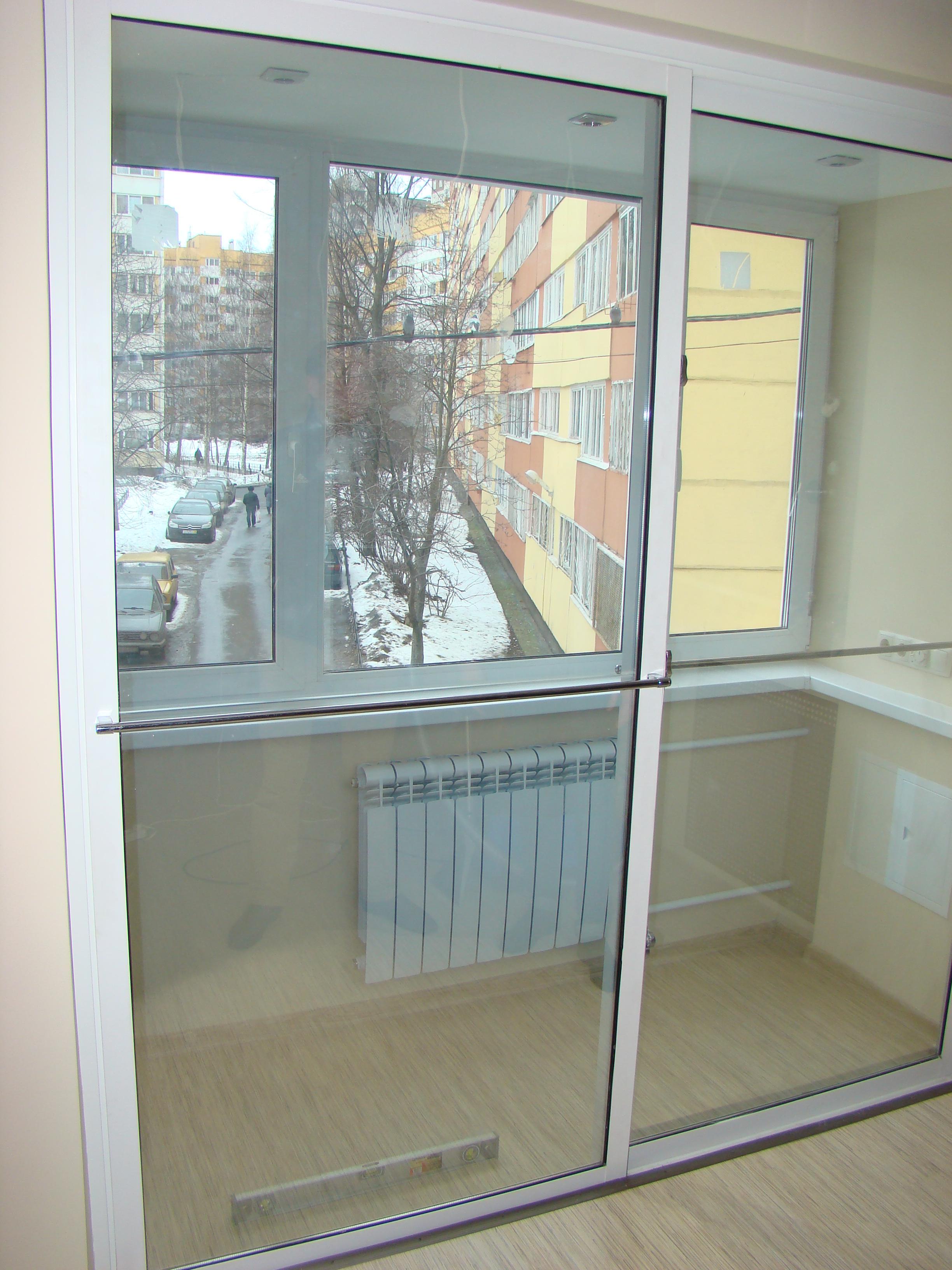 Перегородки на балконе между квартирами..